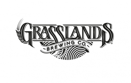 logotype for grasslands Brewing Co