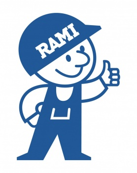 Rami, a character for Ramirent. Provider of rental equipment.
