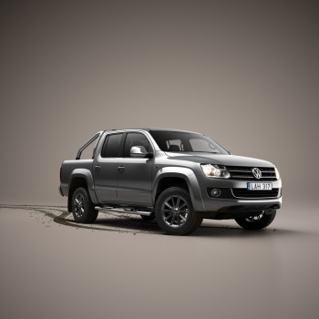 Studio picture of VW Amarok car bil